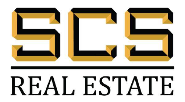 SCS REAL ESTATE Logo
